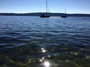 Schwimmen See